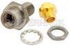 3.5mm Female Bulkhead Mount Connector Clamp/Solder Attachment for PE-SR402AL, PE-SR402FL, RG402, .235 inch D Hole -- PE4985 -Image