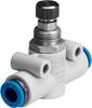 One-way flow control valve -- GR-QS-6 -Image