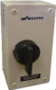 4 Pole Sheet Metal Enclosed Motor Disconnect Switch -- KET4125UL Y/R -Image
