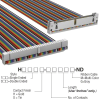 Rectangular Cable Assemblies -- H3DKH-6006M-ND -- View Larger Image