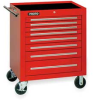 Rolling Tool Cabinet,34 Wx41 H,8 Drawer -- 1ZMK2