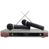 Pyle PDMW-2000 Dual-Channel Wireless Hand-Held Microphone Sy -- PDMW-2000