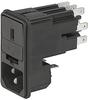 IEC Appliance Inlet C14 with Fuseholder -- KE Series