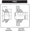 V- seals, Nitrile - narrow body (VRS2) -- Brand: National®
