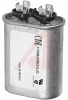 Capacitor, Motor Run;2uF;Oval;370VAC;+/-10% -- 70186170