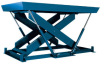Super Duty (SD) Series Single Scissors Lift Tables -- SD-10809