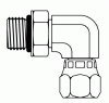O-Ring to JIC Swivel Elbow 90° -- 6809-04-04 - Image