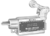 Prewired Enclosed Switches Series BZLN: Top Roller Arm Actuator; SPNO; No. 14 wire leads with 1/2 in - 14NPSM conduit hub; Right-hand Actuator -- YZLN-2-RH
