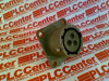 CIRCULAR CONNECTOR, RECEPTACLE, SIZE 12, 3 POSITION, BOX MILITARY SPECIFICATION:MIL-DTL-26482 SERIES I CIRCULAR CONNECTOR SHELL STYLE:BOX MOUNT RECE -- MS3112E123S