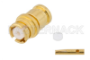 SMP Female Push-On Connector Solder Attachment for RG178, RG196 -- PE45287 -Image