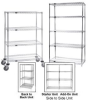 CHROME WIRE SHELVING -- HAD54-1236C - Image
