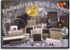 Inline Duct Fan Industrial Duty -- NFC-AXC355B