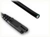 BLUNT CUT to IEC-60320-C7 HOME • Power Cords • IEC/Jumper Power Cords • Domestic -- 0141.036 - Image