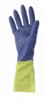 Ansell Chemi-Pro Flock-Lined, Neoprene-Over-Latex Gloves, size 10, 12 pair/pk -- EW-81601-70 - Image