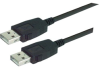 LSZH USB Cable Assembly, Latching A / Latching A 0.5m -- MUS2A00017-05M -- View Larger Image
