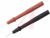 Test Probe Set, Polypropylene, 0.47 inches, Set includes one red and one balck -- 70197126