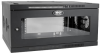SmartRack 6U Low-Profile Switch-Depth-Plus Wall-Mount Rack Enclosure Cabinet, Wide, Acrylic Window -- SRW6UDPGVRT -- View Larger Image