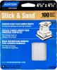 Norton MultiSand SC Medium Grit Paper PSA Cut Sheet -- 7660705452 -Image