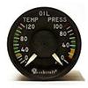 Engine Instruments / Miscellaneous IndicatorsOil Temperature / Oil Pressure -- MD81-5