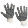 PVC Dot Knit Gloves - Large -- GLV1011L