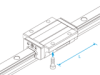 Linear Motion Guide HSR -- HSR85LB-Image