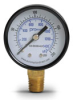 0-200 psi / 0-1400 kPa Pressure Gauge with 2.0 inch mechanical dial -- G20-BD200-4LB - Image