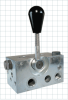 4 Way Clamping Valves -- Lever Type