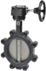 Butterfly Valve With Gear Operators -- F6 Series