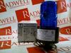 STROBE LIGHT 120VAC 50/60HZ 5W 1/2IN PIPE MTD BLUE -- 490S120B