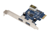 USB 3.0 2-Port USB PCI Express Card Adapter -- USR8402 - Image