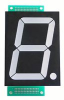 AND DISPLAYS - AND2307SCL - DISPLAY, SEVEN SEGMENT, 58.4MM, RED -- 551156