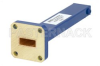 1 Watt Low Power Commercial Grade WR-42 Waveguide Load 18 GHz to 26.5 GHz, Bronze -- PEWTR1002 - Image