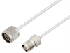 N Male to TNC Female Cable Assembly using LC141TB Coax, 5 FT -- LCCA30446-FT5 -Image
