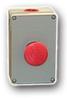 Die-Cast Aluminum One Button Enclosure -- MC-1B-NC-TTR