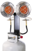 Master 30 000 BTU Double-Burner Tank Top Heater -- MAMH30TT