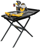 "10"" Wet Tile Saw with Stand -- D24000S"