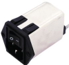 TE CONNECTIVITY / CORCOM - 3CFE1 - POWER ENTRY MODULE, RECEPTACLE, 3A -- 547304