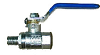 Brass M x F Ball Valve -- JMPC-50