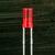 3MM FLAT TOP RED ORANGE LED -- E424EDT