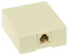 Surface mount modular RJ11 Telephone Jack -- SMTE14I