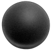 Foam Ball,Polyether,Charcoal,4 In Dia -- 5GCH9