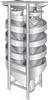 Seedburo Spiral Separators - SINGLE SPIRAL 3FLIGHTS LEFT -- S30SHL20G