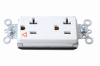 Pass & Seymour® -- PlugTail™ Decorator Spec Grade Receptacle - PTIG26362W