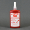 Henkel Loctite 569 High Strength Hydraulic Thread Sealant Brown 250 mL Bottle -- 209605 -Image