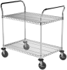 "Cart, 24""x36"" 2 Shelf Wire Cart -- AWCART24362"