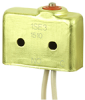SE Series Environmentally Sealed Basic Switch, Single Pole Normally Open Circuitry, 5 A at 250 Vac, Pin Plunger Actuator, Leadwire Termination -- 1SE3