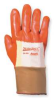 Cut Resistant Gloves,Orange/Gold,M,PR -- 1FEZ7