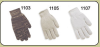 Red Steer 1105 SM COTTON/SYNTHETIC KNIT GLOVE - SM -- 1105 SM