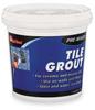 Tile Grout,Pre-Mixed Paste,1 Quart Tub -- 4CRG5