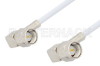 SMA Male Right Angle to SMA Male Right Angle Cable 24 Inch Length Using RG188-DS Coax -- PE3347-24 -Image